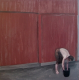 У ворот. Холст, акрил. 60 х 60 см. 2013