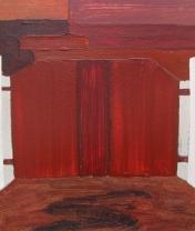 Ворота. Орг. акрил, 30 х 40 см. 2012