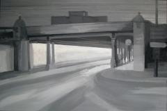 Туннель с часами