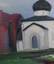 Юрьев-Польский. Холст, масло. 40 х 60 см. 2016