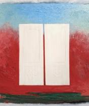 Белые двери. Холст, масло. 50 х 70 см. 2017