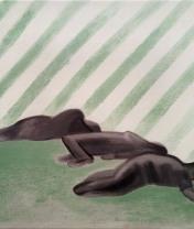 """Спящие. Серия """"Транс"""". Холст, масло.  41 х 51 см. 2017"""