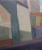 Погорельский переулок. Х. м., 30 х 40 см. 2016
